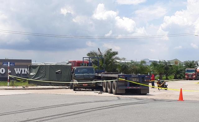 Xe container tông văng thùng xe biển đỏ, 1 người chết, 6 người bị thương - 4