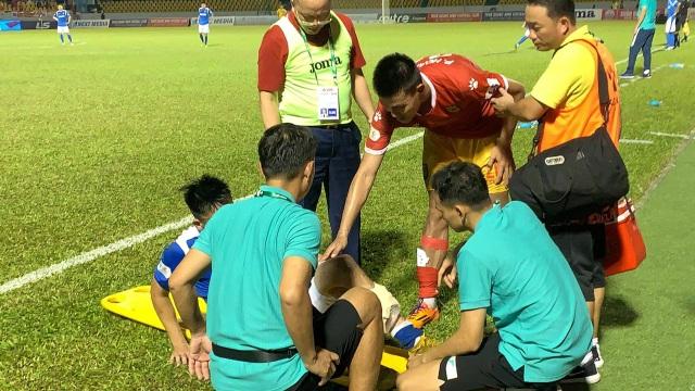 Hải Huy gãy chân, Than Quảng Ninh thua Hà Tĩnh trên sân nhà - 5