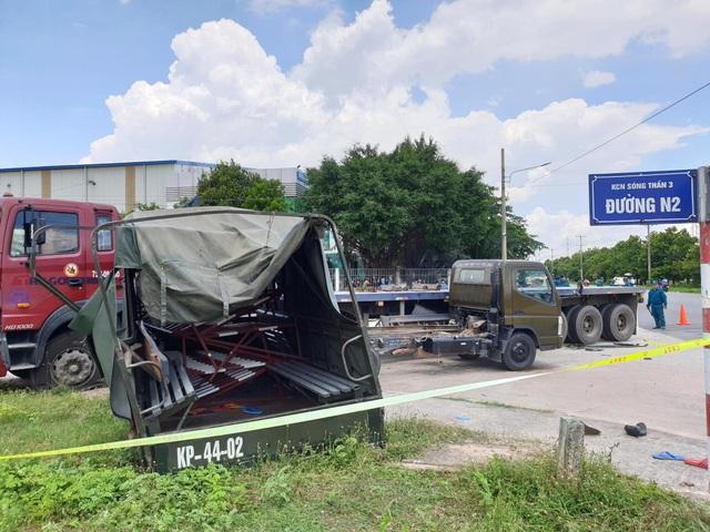 Xe container tông văng thùng xe biển đỏ, 1 người chết, 6 người bị thương - 5