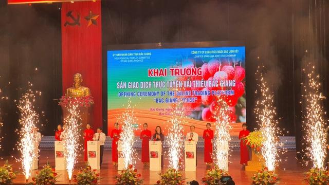 80.000 tấn vải Bắc Giang lên đường xuất ngoại bất chấp dịch Covid-19 - 1