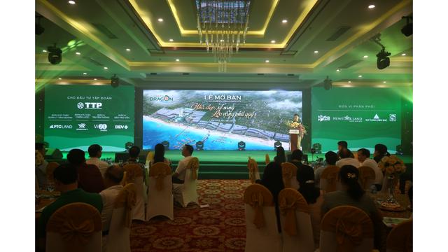Bùng nổ giao dịch tại lễ mở bán dự án đất nền mặt biển Green Dragon City - 1
