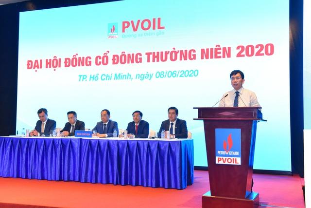 Đại hội đồng cổ đông thường niên 2020: PVOIL nỗ lực vượt khó khăn, giảm thiểu thiệt hại từ đại dịch Covid-19 - 3