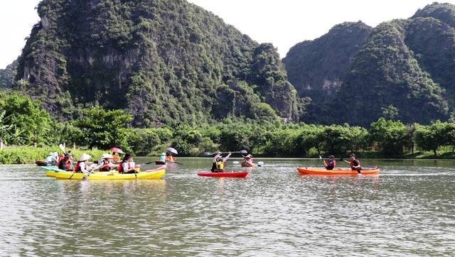 Chèo thuyền kayak khám phá di sản thế giới Tràng An - 5