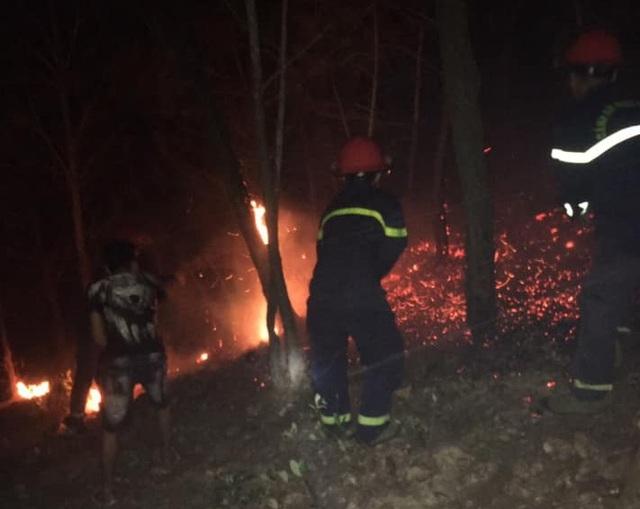 Suốt đêm dập đám cháy rừng - 3