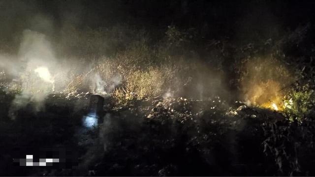 Suốt đêm dập đám cháy rừng - 4