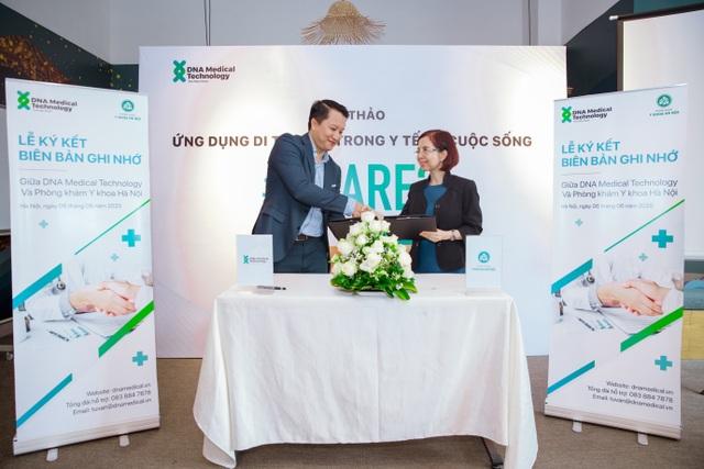 DNA Medical Technology ký hợp tác với Phòng khám Y khoa Hà Nội - 3