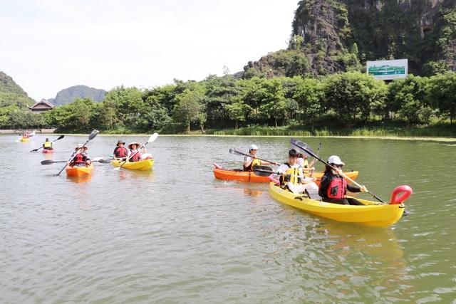 Chèo thuyền kayak khám phá di sản thế giới Tràng An - 3