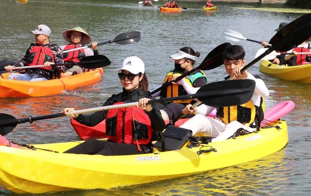 Chèo thuyền kayak khám phá di sản thế giới Tràng An - 4