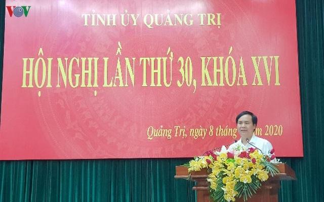 Bí thư Thành uỷ Đông Hà được bầu giữ chức Phó Bí thư Tỉnh ủy Quảng Trị