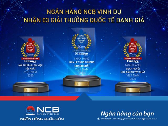 NCB giành 3 giải thưởng quốc tế danh giá từ Global Banking  Finance Review - 1