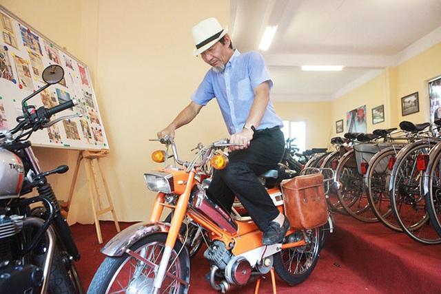 """Cận cảnh xe đạp máy """"cá vàng"""" từng cógiá bằng cả ngôi nhà mặt phố Hà Nội - 1"""