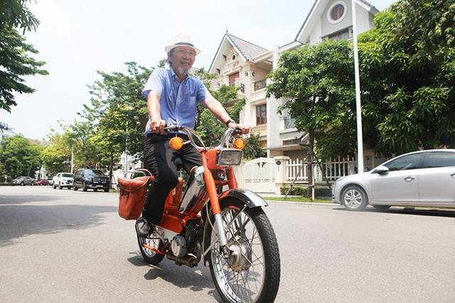 """Cận cảnh xe đạp máy """"cá vàng"""" từng cógiá bằng cả ngôi nhà mặt phố Hà Nội - 13"""
