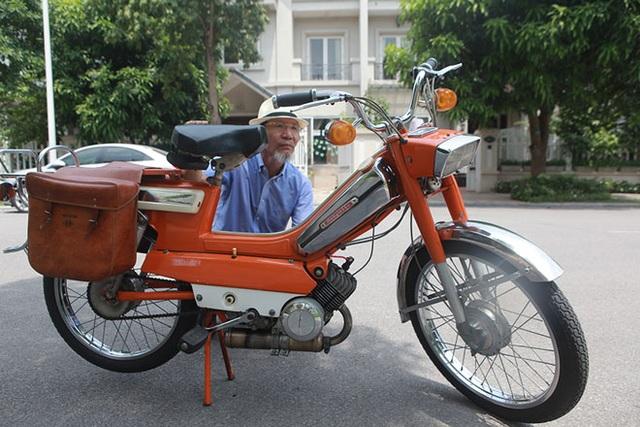 """Cận cảnh xe đạp máy """"cá vàng"""" từng cógiá bằng cả ngôi nhà mặt phố Hà Nội - 6"""