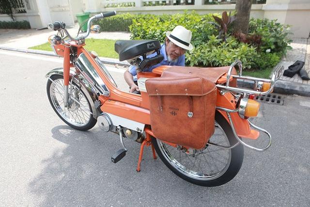 """Cận cảnh xe đạp máy """"cá vàng"""" từng cógiá bằng cả ngôi nhà mặt phố Hà Nội - 7"""