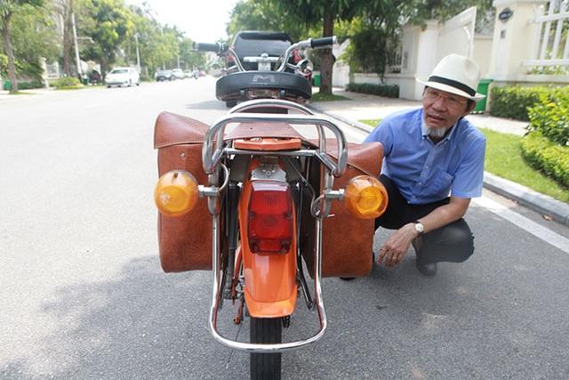 """Cận cảnh xe đạp máy """"cá vàng"""" từng cógiá bằng cả ngôi nhà mặt phố Hà Nội - 8"""