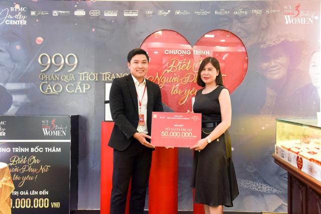 """Lễ trao thưởng chương trình """"Biết ơn người phụ nữ tôi yêu"""" Bảo Tín Minh Châu - 2"""