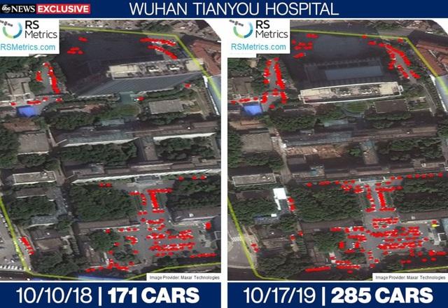 Ảnh vệ tinh hé lộ nghi vấn mới về dịch Covid-19 ở Vũ Hán - 2