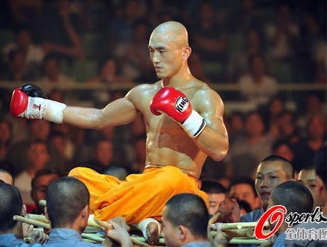 Đệ tử phái Thiếu Lâm thua liểng xiểng ở giải võ thuật Trung Quốc - 1