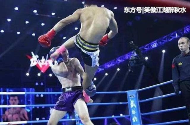Đệ tử phái Thiếu Lâm thua liểng xiểng ở giải võ thuật Trung Quốc - 2