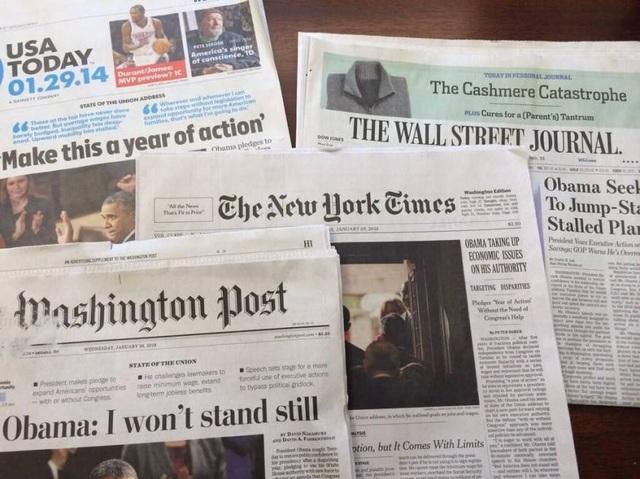 Truyền thông Trung Quốc chi 19 triệu USD quảng cáo trên hàng loạt báo Mỹ - 1
