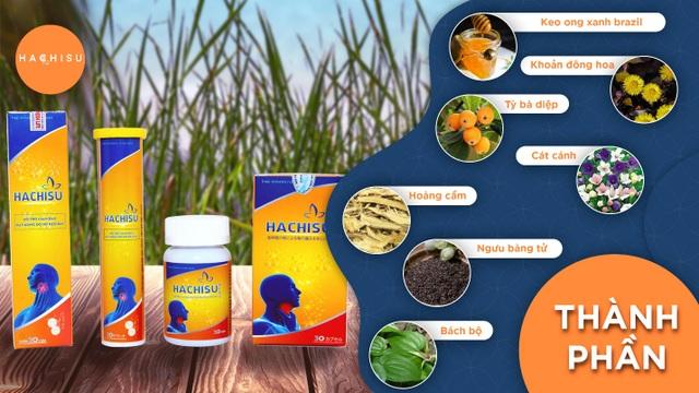 Viên sủi hachisu - giải pháp cho những người mắc bệnh đường họng - 3