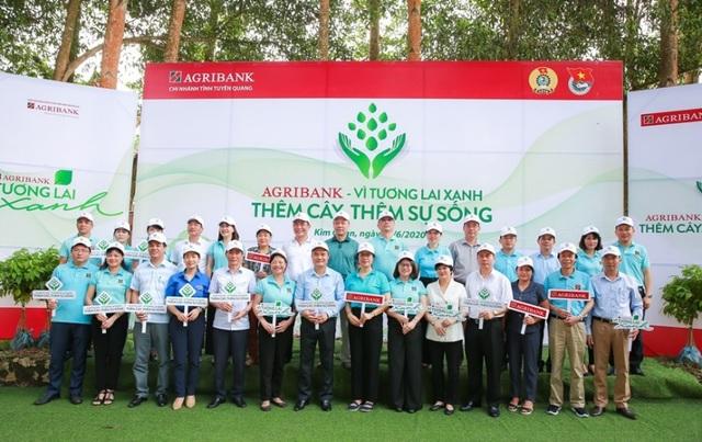 Phát động chương trình Agribank - Vì tương lai xanh, Thêm cây - Thêm sự sống - 1