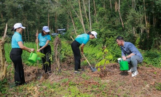 Phát động chương trình Agribank - Vì tương lai xanh, Thêm cây - Thêm sự sống - 2