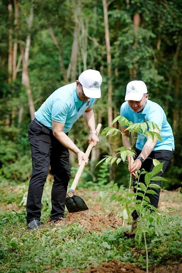 Phát động chương trình Agribank - Vì tương lai xanh, Thêm cây - Thêm sự sống - 5