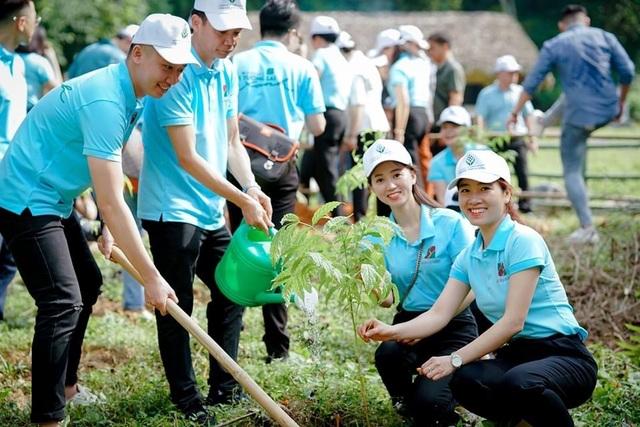 Phát động chương trình Agribank - Vì tương lai xanh, Thêm cây - Thêm sự sống - 6