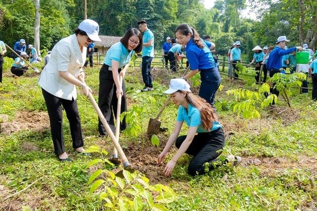 Phát động chương trình Agribank - Vì tương lai xanh, Thêm cây - Thêm sự sống - 7