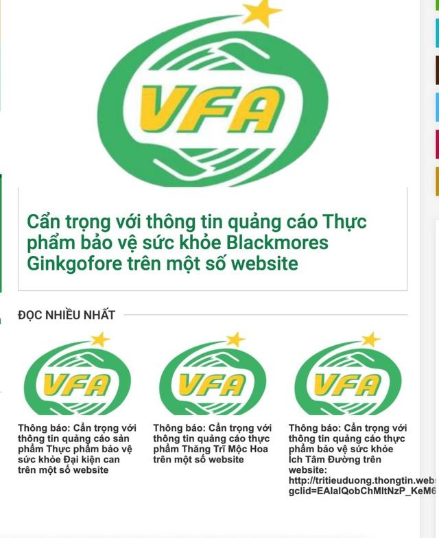 Cơ quan quản lý gọi tên hàng loạt thực phẩm chức năng vi phạm quảng cáo - 1