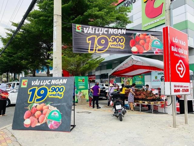"""Vải thiều 20.000 đồng/kg, người Sài Gòn """"đổ xô"""" mua ủng hộ nông dân - 4"""