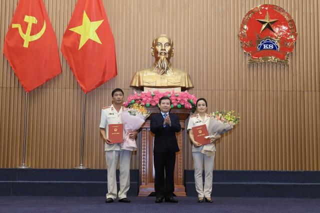 Chủ tịch nước bổ nhiệm 2 Phó Viện trưởng VKSND Tối cao - 1