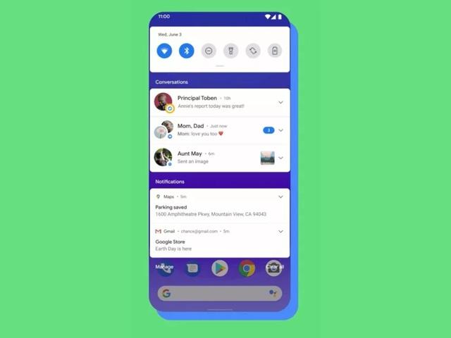 Google ra mắt bản thử nghiệm Android 11 Beta cùng loạt tính năng mới - 1