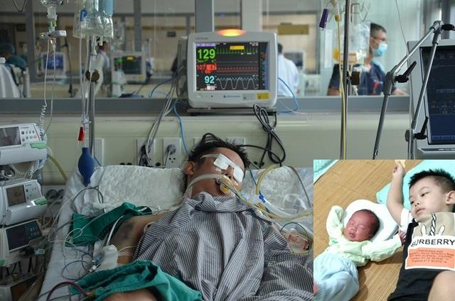 Xót xa hoàn cảnh người bố 2 con tính mạng nguy kịch vì bị xe máy đè dưới ao - 5