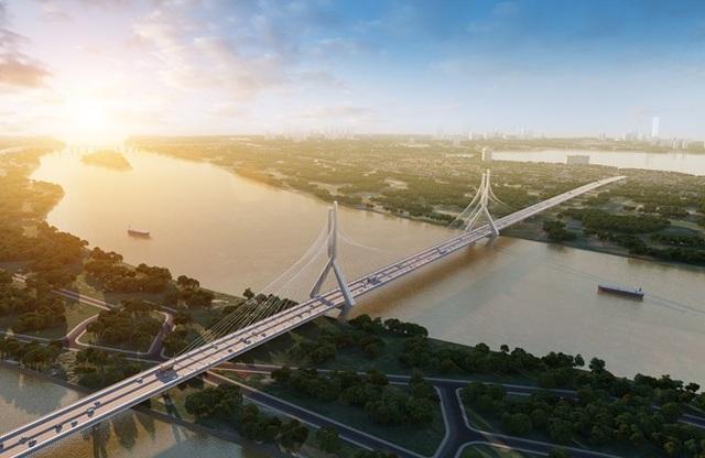 Hà Nội: Công bố thiết kế cầu Tứ Liên nối Tây Hồ - Đông Anh - 1