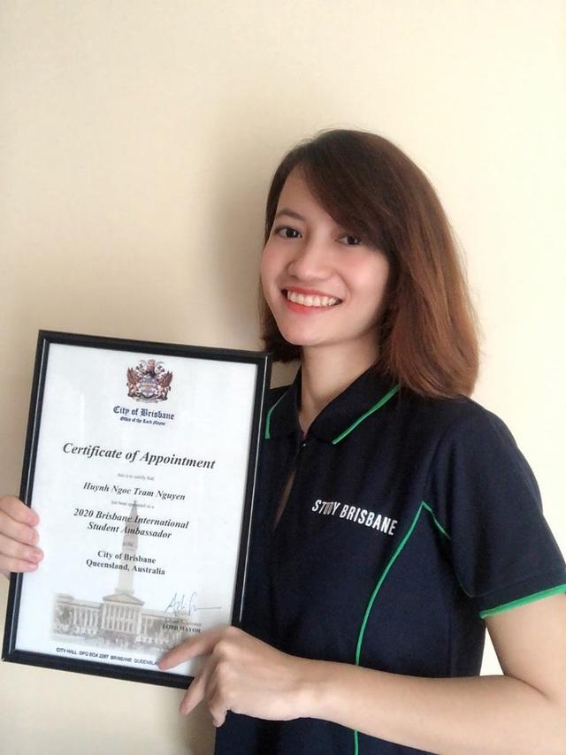 Cô gái Long An trở thành Đại sứ sinh viên thành phố Brisbane - 1