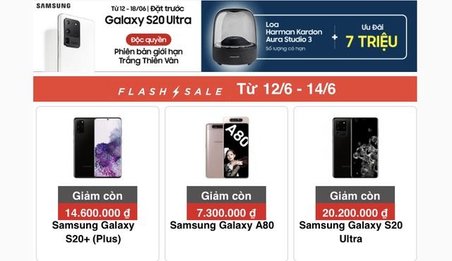 Samsung Galaxy S20+ tụt giá cả chục triệu, rẻ hơn cả Galaxy S20 - 2