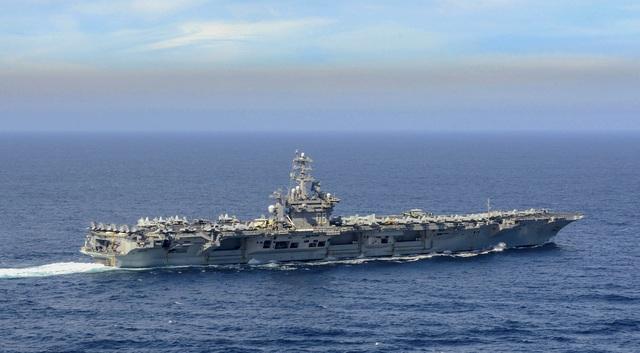 Mỹ điều 2 biên đội tàu sân bay đến Thái Bình Dương giữa lúc căng thẳng - 1