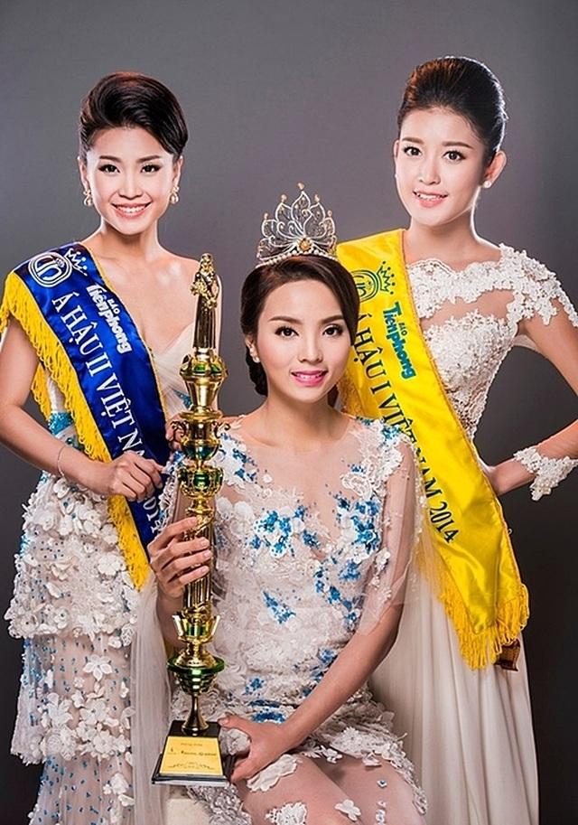 Tình duyên, nhan sắc của Top 3 Hoa hậu Việt Nam 2014 sau 6 năm - 1
