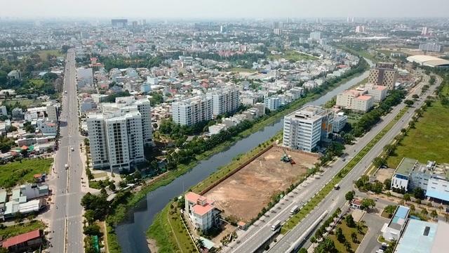 """Thị trường địa ốc đã trở lại cuộc đua: """"sốt"""" khu Đông, """"khát"""" khu Tây - 1"""