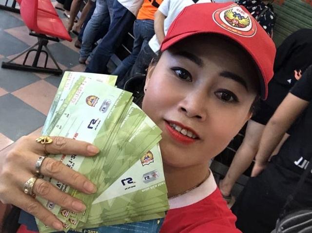 Trận Hồng Lĩnh Hà Tĩnh - Hà Nội FC phải in thêm 2000 vé - 2