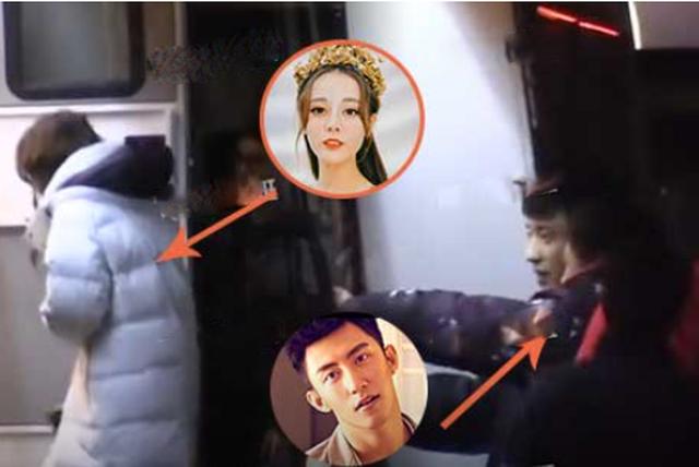 Địch Lệ Nhiệt Ba và Hoàng Cảnh Du lộ bằng chứng hò hẹn bí mật - 2