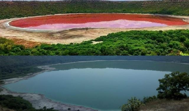 Hồ nước 50.000 năm tuổi bất ngờ chuyển màu lạ chỉ sau một đêm - 3