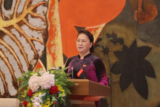 Chủ tịch Quốc hội gặp mặt, tuyên dương người làm báo tiêu biểu toàn quốc  - 1