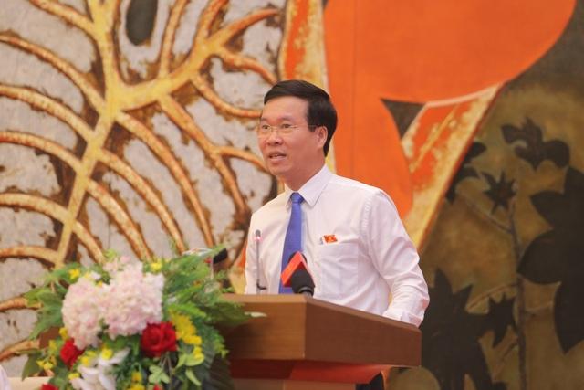 Chủ tịch Quốc hội gặp mặt, tuyên dương người làm báo tiêu biểu toàn quốc  - 2