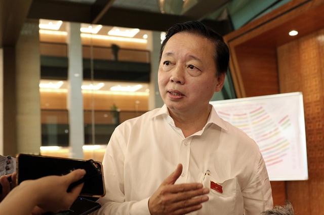 """Bộ trưởng Trần Hồng Hà: """"Ai xả rác nhiều thì phải trả nhiều tiền"""" - 1"""