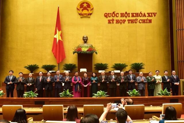 21 thành viên Hội đồng bầu cử Quốc gia ra mắt Quốc hội - Ảnh minh hoạ 2