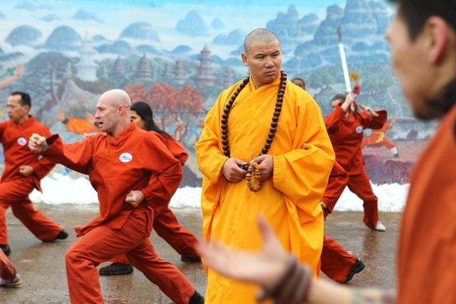 Đại sư Thiếu Lâm xuất sắc hạ võ sĩ kickboxing, lấy lại danh dự môn phái - 1