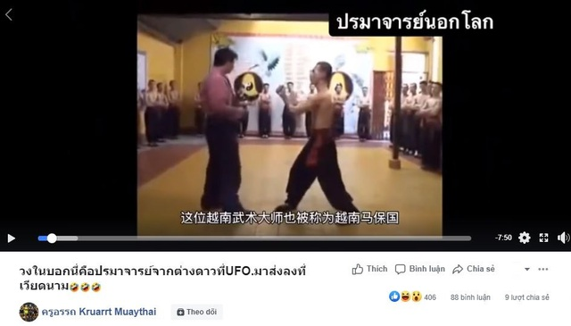 Võ sư Huỳnh Tuấn Kiệt bất ngờ bị chế nhạo ở Thái Lan